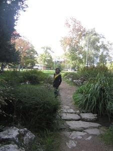 A park in Bizanos