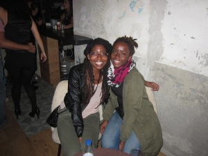 Abena and I