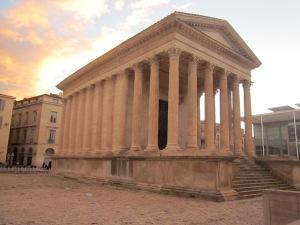 """Maison Carrée (""""Square House"""" preserved Roman temple)"""